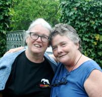 Hilary Linstead and Elisabeth Davies